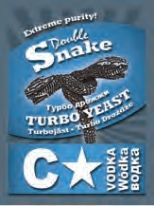 DoubleSnake C-Star Turbo Yeast (Extreme Purity Vodka Yeast)